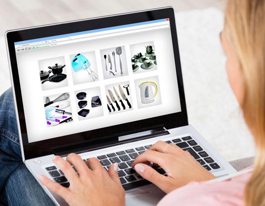 Vente en ligne et livraison à domicile